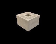 Betonpoer 30 x 30 x 20 grijs